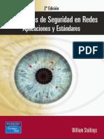 2ª Edición. Fundamentos de Seguridad en Redes. Aplicaciones y Estándares. William Stallings