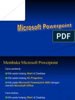 Ms Pwrpoint