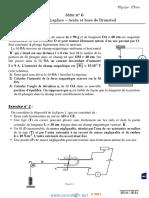 Série d'exercices N°6 - Sciences physiques Force de Laplace – Acide et base de Bronsted - 3ème Math (2013-2014) Mr Adam Bouali