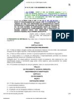 Lei 8112 de 11-12-1990 Regime Jurídico dos Servidores Públicos