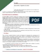 Materiaux et hypothèse de calcul -PFC=2019-2020