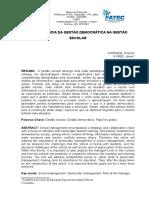 ARTIGO GESTÃO DEMOCRATICA PRISCILA ANDRADE