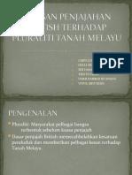 kesan penjajahan British terhadap pluraliti di Tanah Melayu