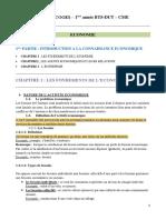 Ecomonie 1e Partie Introduction a La Connaissance Economique (1)