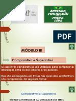 BÁSICO III -EXPLICANDO O COMPARATIVO E SUPERLATIVO