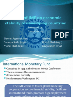 9) Impact of IMF on economic stability of developing countries (15th _4)