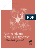 Razonamiento Clínico y Diagnóstico en Terapia Ocupacional