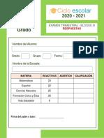 3-grado-Respuestas-Examen-Trimestral-Bloque-III-2020-2021