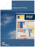 Metro updated Joint Development Policy