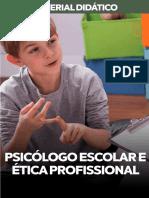 PSICÓLOGO ESCOLAR E ÉTICA PROFISSIONAL