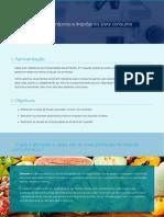 Alimentos próprios e impróprios para consumo