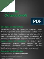 Doenças Ocupacionais e Psicossociais