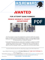 Crime Solvers BBT Attempt Bank Robbery 11-080-1226