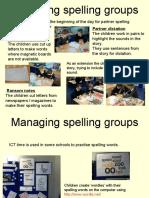 Managing spelling groups