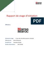 Rapport de Stage MarsaMaroc