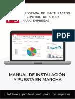 FACTUSOL Manual de Instalacion y Puesta en Marcha