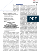 DECRETO DE URGENCIA Nº 055-2021