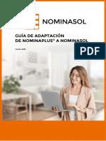 NOMINASOL Guia de Adaptacion de NominaPlus a NominaSOL