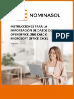 NOMINASOL Importacion Excel Calc 1