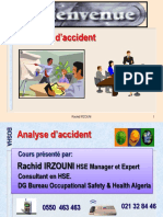 Analyse  d'accident