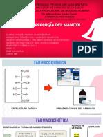 FARMACOLOGIA DE MANITOL
