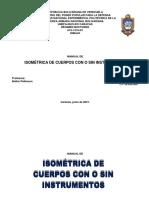 ISOMÉTRICA DE CUERPOS CON O SIN INSTRUMENTOS