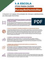 DEFENDA A ESCOLA_8 Argumentos para Dizer Não à Educação Domiciliar