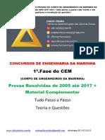 CEM - Corpo de Engenheiros Da Marinha - Curso Online - 2018 (Atualizado 20.02)Chico Vieira(1)
