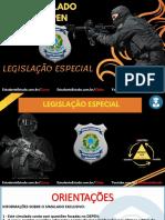 01 - SIMULADO DEPEN 2021 (LEGISLAÇÃO ESPECIAL)