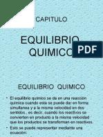 CAPITULO - EQUILIBRIO QUIMICO