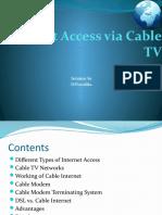 Internet-Access-via-Cable-TV-Network