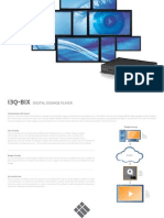 Factsheet  - Q-Bix Digital Signage player