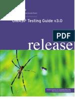Owasp Testing Guide v3.0