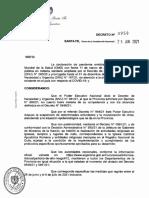 El decreto provincial con las nuevas restricciones