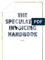 The Speculative Invoicing Handbook - first edition (2)