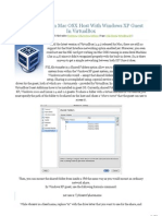 Transfer Between Mac OSX Host with Windows XP Guest in VirtualBox « Mac OSX Hosting!