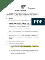 DEMANDA DE ALIMENTOS - GLADYS