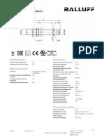 Datasheet BES01C7 218997 Pt
