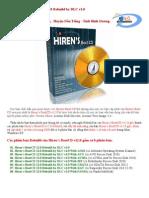 Thong tin Hirens BootCD 12.0 Rebuild v1.0