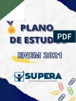 PLANO DE ESTUDOS 2021