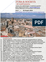 Cultura & Società in Capitanata N. 38 Del 26-06-2021