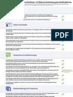 Facebook Plattform Policy Checklist (Deutsch)