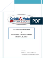 Rapport Crédit Mutuel