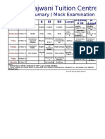 New time table1