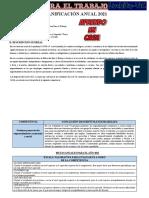 Planificacion Anual1ro y 2do Ept -2021 Luchito Tic