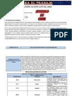 Planificacion Anual 5to Ept -2021 Luchito Tic