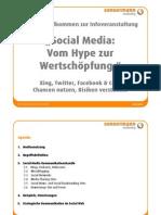 Social Media - Vom Hype zur Wertschöpfung