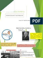 2. CONCEPTUALIZACIÓN Y CARACTERIZACIÓN DE LA PSICOLOGÍA CLINICA