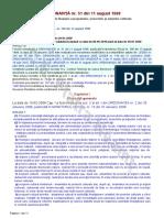 ORDONANŢĂ Nr. 51 Din 11 August 1998