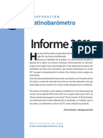 Latinobarómetro Informe 2011